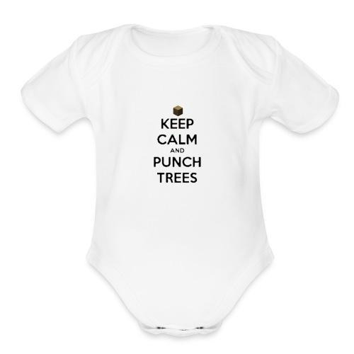 Organic Short Sleeve Baby Bodysuit - videogame,tshirt,t-shirt,game,funny,craft,clothing
