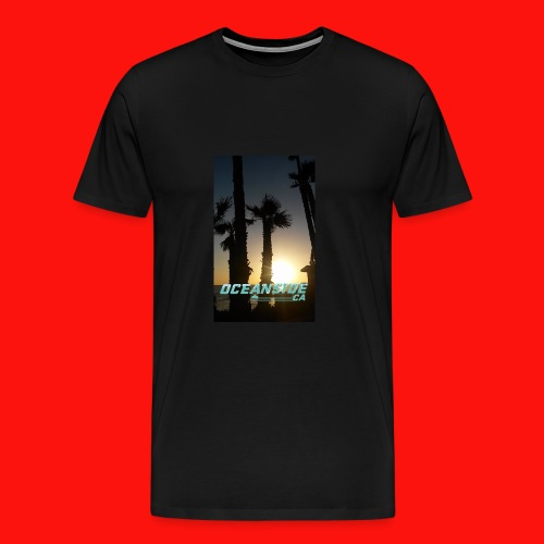 Oceanside CA t-shirt - Men's Premium T-Shirt