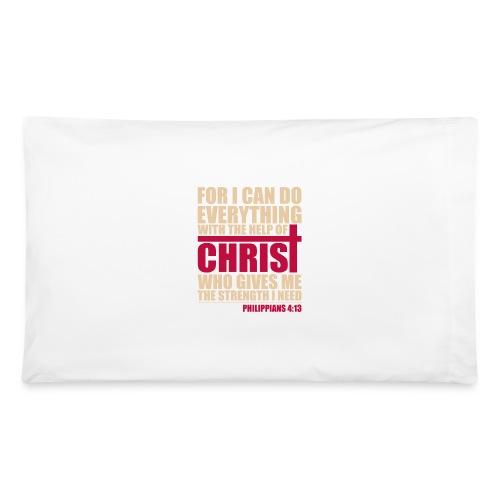 Philippians 4:13 Pillow Case - Pillowcase