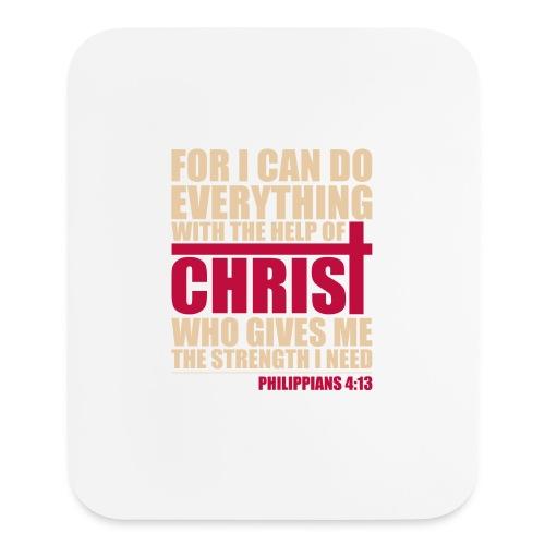 Philippians 4:13 Vertical Mouse Pad - Mouse pad Vertical