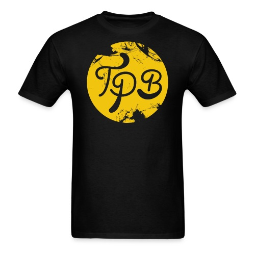 Yellow Circle Logo Mens T-Shirt - Men's T-Shirt