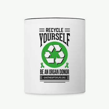 Recycle Yourself Mug - Contrast Coffee Mug