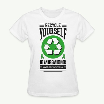 Recycle Yourself Women's T-Shirt - Women's T-Shirt