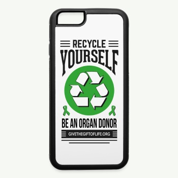 recycle yourself phone case - iPhone 6/6s Rubber Case