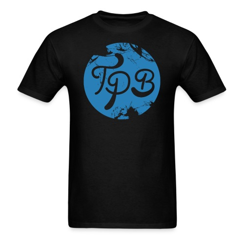 Blue Circle Logo Mens T-Shirt - Men's T-Shirt
