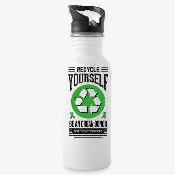 Recycle Yourself Water bottle - Water Bottle