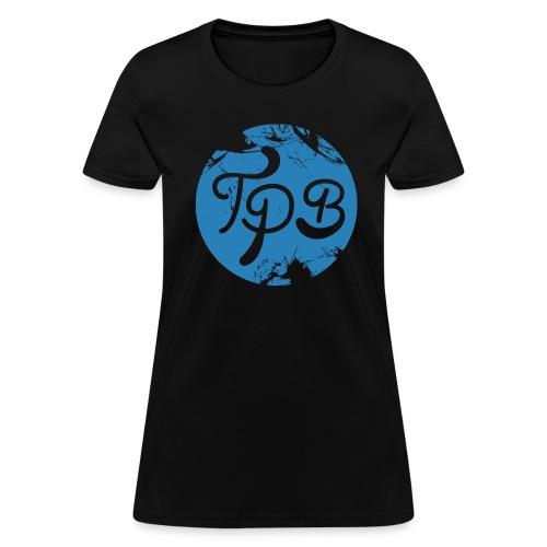 Blue Circle Logo Womans T-Shirt - Women's T-Shirt