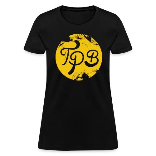 Yellow Circle Logo Womans T-Shirt - Women's T-Shirt