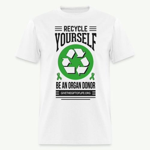 Recycle Yourself Men's T-Shirt - Men's T-Shirt