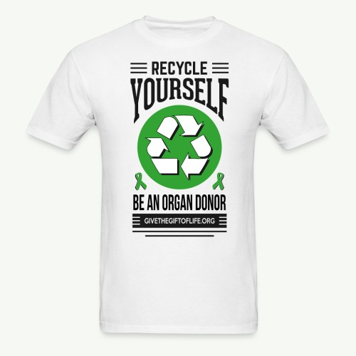Recycle Yourself Men's T-Shirt - Men's T-Shirt