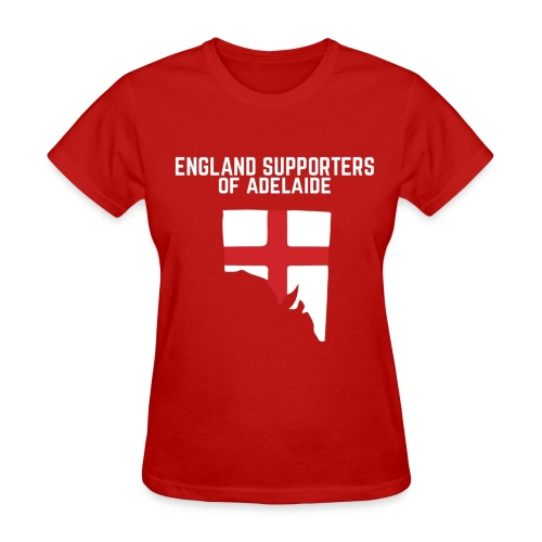 England Supporters of Adelaide Women's T-Shirt - Women's T-Shirt