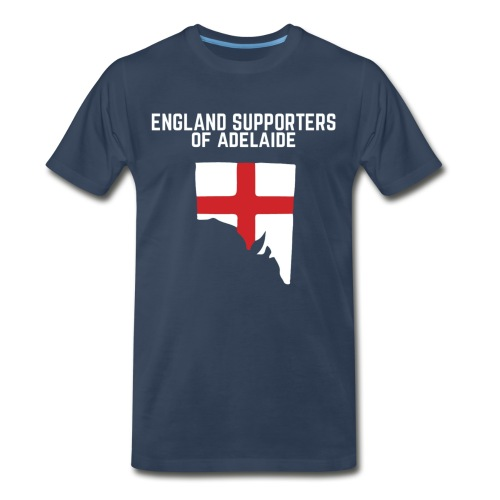 England Supporters of Adelaide Men's Premium T-Shirt - Men's Premium T-Shirt