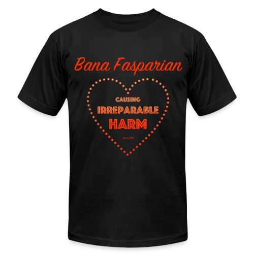 Causing Irreparable Harm - Men's Fine Jersey T-Shirt