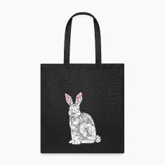 Geometric Rabbit Bags & backpacks