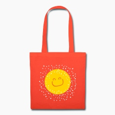 smile sun Tote Bag