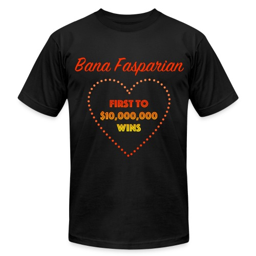 First to $10,000,000 Wins - Men's Fine Jersey T-Shirt