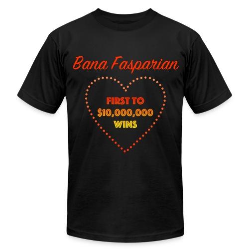 First to $10,000,000 Wins - Men's Fine Jersey T-Shirt