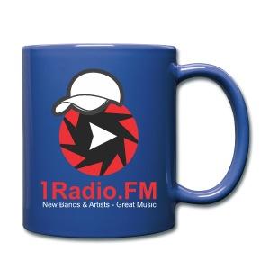 1Radio.FM Blue Mug - Full Color Mug