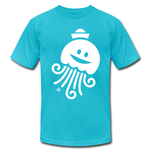 BD Jellyfish Tshirt US - Men's T-Shirt by American Apparel
