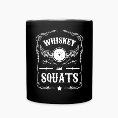 Whiskey and Squats Mugs & Drinkware