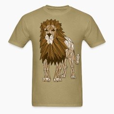 Geometric Lion T-Shirts
