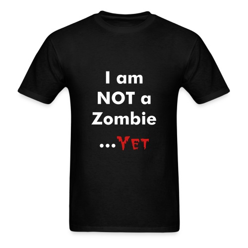 We all turn into Zombies sooner or later!  - Men's T-Shirt