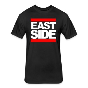 EAST SIDE UA14 - Fitted Cotton/Poly T-Shirt by Next Level