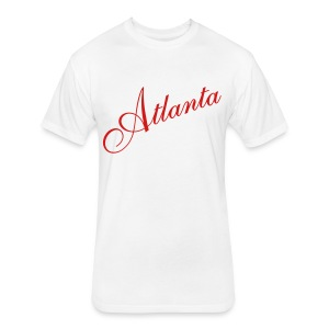 UA14 ATLANTA tee - Fitted Cotton/Poly T-Shirt by Next Level