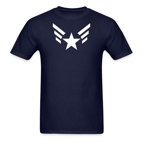 Men's Captain's Wings - Men's T-Shirt