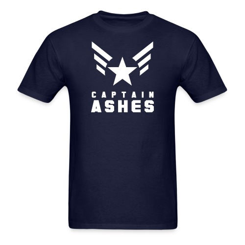 Men's Captain's Wings with Name - Men's T-Shirt