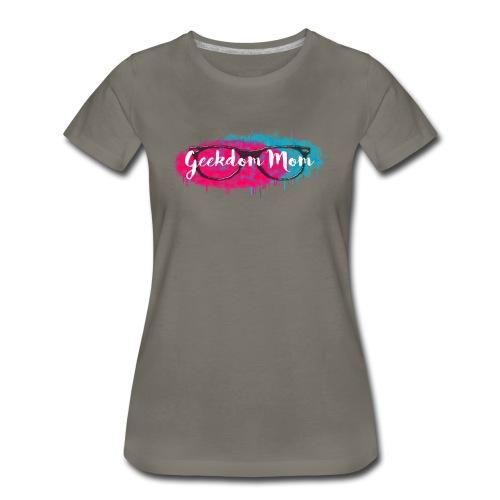 Geekdom Mom Logo - Women's - Women's Premium T-Shirt