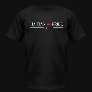 Haitian Pride Shop Mens T-Shirt (Black) - Men's Fine Jersey T-Shirt