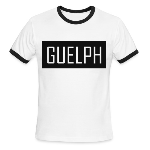 Guelph B&W T-shirt - Men's Ringer T-Shirt