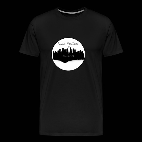 Men's urban Seattle t-shirt - Men's Premium T-Shirt