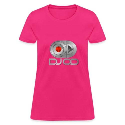 WOMAN DJ OD Official Shirt PINK - Women's T-Shirt