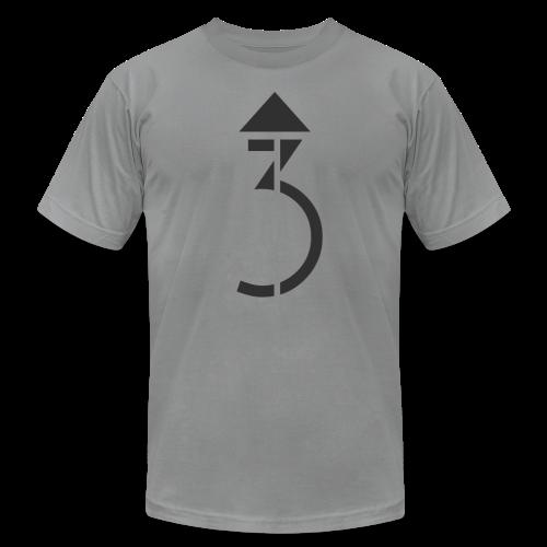 Men's - A Higher Third - Logo (Premium Quality) - Men's Fine Jersey T-Shirt