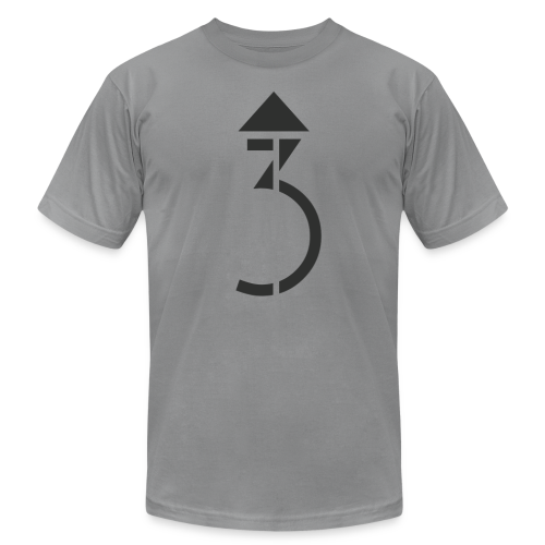 Men's - A Higher Third - Logo (Premium Quality) - Men's Fine Jersey T-Shirt