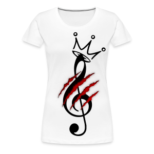 Torn Music - Women's Premium T-Shirt