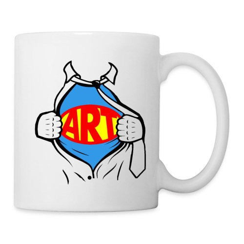 Art is a Super Power!  - Coffee/Tea Mug