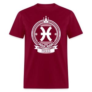 Men's PISCES Zodiac Sign T-Shirt - Men's T-Shirt