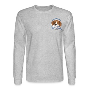 The Best Dogs Have Tattoos  - Lab to Leash - Men's Long Sleeve T-Shirt