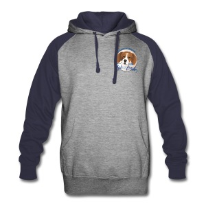 The Best Dogs Have Tattoos  - Lab to Leash - Colorblock Hoodie