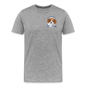 The Best Dogs Have Tattoos  - Lab to Leash - Men's Premium T-Shirt