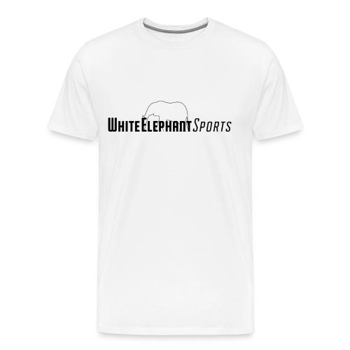 White Elephant Sports Premium White Tee - Men's Premium T-Shirt