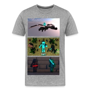 BryceTheDerp Shirt 3x Pictures V1 - Men's Premium T-Shirt