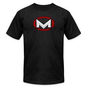 MOBB3D Next Gen Red - T-shirt by American Apparel - Men's Fine Jersey T-Shirt