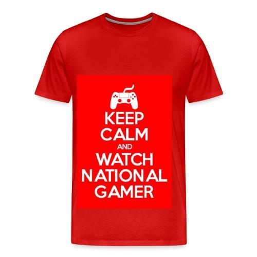 Biiger (Pause) kepp calm  - Men's Premium T-Shirt