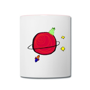Little Planet Mug - Contrast Coffee Mug