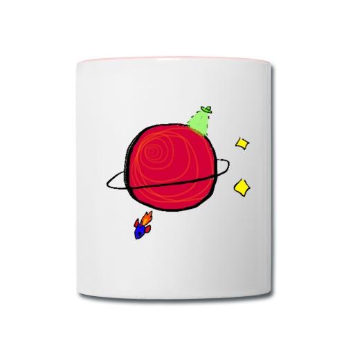 Little Planet Mug - Contrast Coffee Mug