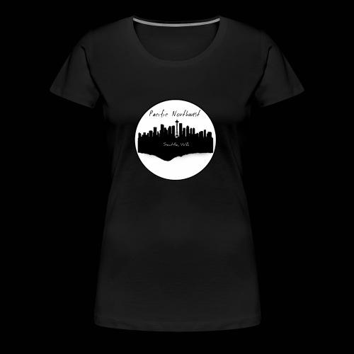 Women's urban Seattle t-shirt - Women's Premium T-Shirt